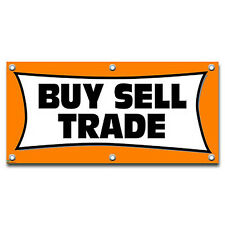 Buy Sell Trade - Retail Store Business Sign Banner