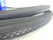 """27 x 1 1/4 Bicycle All Black Tires & Tubes w/ liners for Road Bikes & other 27"""""""