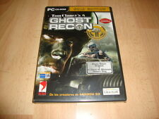 GHOST RECON + DISCO DE MISIONES DESERT SIEG GOLD EDITION PC NUEVO PRECINTADO