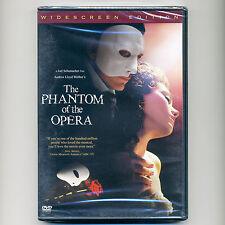 Phantom of the Opera 2004 PG-13 musical movie new DVD Andrew Lloyd Webber Driver