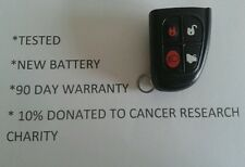 JAGUAR S & X-TYPE X350 XJ REMOTE LOCKING KEY FOB 90 DAY WARANTY & 10% TO CHARITY