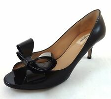 Valentino Couture Bow Pumps Size 39.5 $745 NWT Kitten Heels