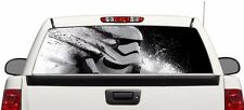 Stormtrooper Wrap rear window graphics Decal Sticker 66'' x 22''
