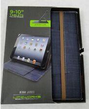 """Lifeworks Denim Jacket case & stand for 9 - 10"""" Tablets,"""