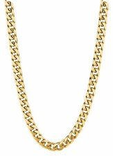 "18KT Solid Gold Miami Cuban Curb Link 26"" 5.8 mm 60 grams chain/Necklace MC180"