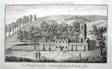 YORKSHIRE, MOUNT GRACE PRIORY, EAST HARLSEY  Antique Print c1771