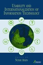 Usability and Internationalization of Information Technology (Human FactorsErgon