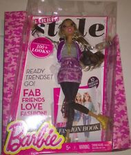 New BARBIE STYLE NIKKI FASHION BARBIE Doll figure