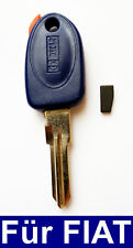 Car Key Casing mit Transponder For Fiat Punto Bravo Brava Coupe Marea