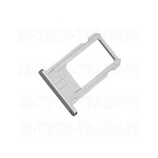 NEW GENUINE SILVER SIDE SIM TRAY SIM CARD HOLDER SLOT PART FOR IPHONE 6  4.7