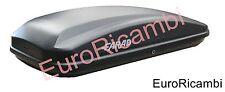 BAULE AUTO FARAD CRUB N18 430LT NERO OPACO - BOX PORTABAGAGLI TETTO UNIVERSALE