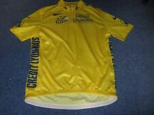 TOUR DE FRANCE 2004 NIKE YELLOW LEADERS CYCLING JERSEY [XL]