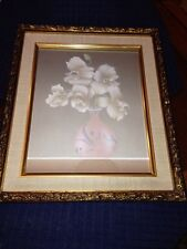 Small Framed Oil Painting On Canvas, Signed