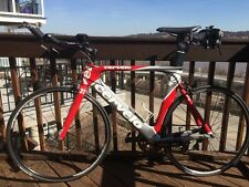 Cervelo P2 Triathlon Bike - 58cm   Red/Gray/White
