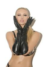 Long Leather Gloves Elbow Length Costume L9419