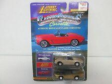 Johnny Lightning Classic Customs Corvette 1962 Corvette Roadster & Corvette Indy