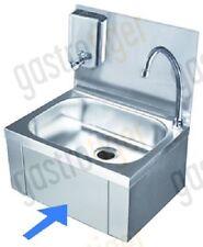 Handwaschbecken Edelstahl Bedienung Knie mit Seifenspender 340 x 250 x 100 mm