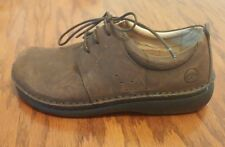 Footprints Birkenstock Corvallis womens brown leather oxfords EU 35 US 4 4.5 Nar