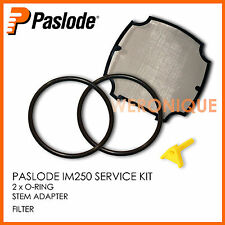 PASLODE IM250 - SERVICE KIT - FILTER , 2 X ORING , STEM ADAPTOR