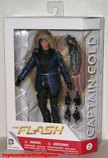 """DC COLLECTIBLES 2015 THE FLASH TV 7"""" CAPTAIN COLD #2 ACTION FIGURE MIMB In Stock"""