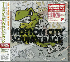 MOTION CITY SOUNDTRACK-MY DINOSAUR LIFE-JAPAN BONUS TRACK CD F30