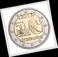 2 EURO *** Luxembourg 2017 *** 50 Jaar Vrijwillig Leger - service militaire !!!