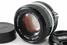 [VG] Nikon Ai-s Nikkor 50mm F1.4 MF Lens from JP (160250-R923)