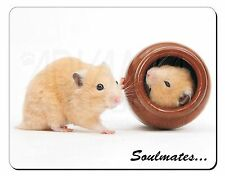 Hamsters in Pot Soulmates' Computer Mouse Mat Christmas Gift Idea, SOUL-87M