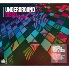 BRAND NEW SEALED Various Artist : Underground Disco - Ministry of Sound (2-CD)