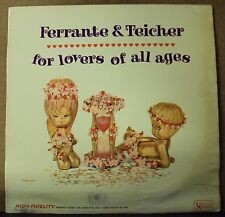FERRANTE & TEICHER For Lovers Of All Ages LP OOP mono