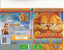 Garfield:The Movie-2004/Garfield:2-2006-2 Disc-Animated-2 Movie-DVD