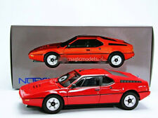 1978 BMW M1 Red Color Limited Edition of 2500 by Norev in 1/18 Scale. In Stock!