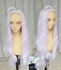 FAIRY TAIL Mirajane Strauss Pink Purple Styled Cosplay Wig Synthetic Hair Wigs