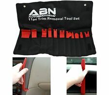 ABN Premium Auto Trim Removal Tool Kit 11 Piece Pry Bar Set New Free Shipping