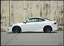 NEW ACURA RSX 2002 03 04 05 06 MUGEN STYLE SIDE SKIRT LIP KIT AFP 02 BODY