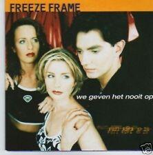 (442P) Freeze Frame, We geven het nooit op - 1998 CD
