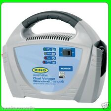 Dual Voltage (6v or 12v)    6amp Fully Automatic Battery Charger [RCB206]