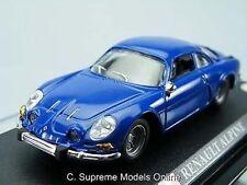 RENAULT ALPINE modèle de voiture 1 / 43e Couleur Bleu Taille régime exemple bxd t3412z (=)