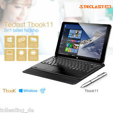 """Teclast Tbook 11 Tablet PC 10.6"""" Dual OS Win 10/ Android 5.1 64G+4GB W/ Keyboard"""