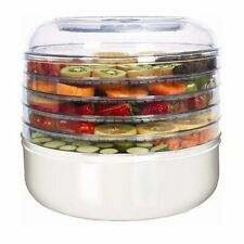 Ronco 5-Tray Food Dehydrator Electric Beef Jerkey Machine & Dried Fruit Maker