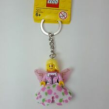 LEGO Fairy Key Chain Minifigure Pink Wings 852783 Girl Birthday Party Gifts NEW