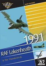 RAF Lakenheath Airshow 1991 & The USAF Thunderbirds DVD Aircraft Aviation Planes