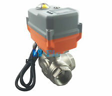 """New 2"""" 3 Way T/L SS304 Proportional Integral Control Motorized Electrical Valve"""