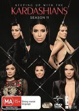 KEEPING UP WITH THE KARDASHIANS SEASON 11 DVD NEW SEALED 4 DISC SET 2016