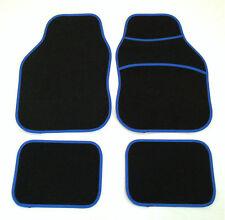 Negro Y Azul alfombrillas de Audi A1 A2 A3 A4 A6 A8 S3 S4 Tt