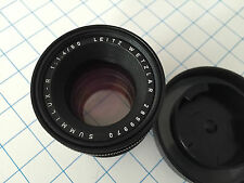 LEITZ LEICA SUMMILUX-R 1.4/50mm - Nº 2899970 - VG CONDITION - GLASS PERFECT