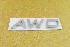 Auto chrome AWD for S60 S70 S80 XC70 S40 XC XC60 XC70 XC90 Emblem Badge Sticker