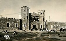 c1930s RPPC Postcard; Prison Penitenciaria Guadalajara Jal. 114 Soldiers Horses