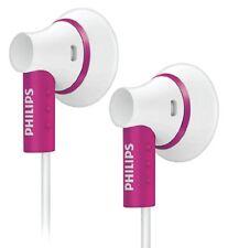 Philips In-Ear Kopfhörer Lautsprechertreiber Neodym-Magnet Weiß/Pink Edition NEU