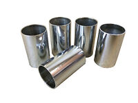 SILVER PLATED PLAIN WALKING STICK CANE COLLARS QTY 10